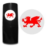 20 Wales dragon red
