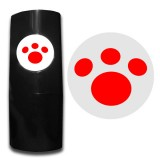32 Paw red